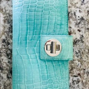 Tiffany & Co. Genuine Croco Wallet